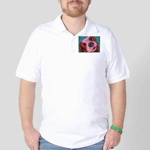 King Charles Spaniel Golf Shirt