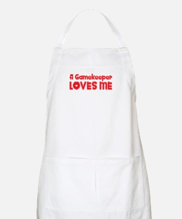 A Gamekeeper Loves Me BBQ Apron