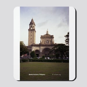 Manila Cathedral Mousepad