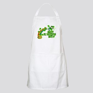 Happy St. Patrick's Day Classic BBQ Apron