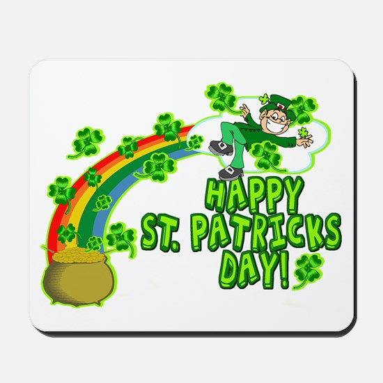 Happy St. Patrick's Day Classic Mousepad