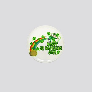 Happy St. Patrick's Day Classic Mini Button