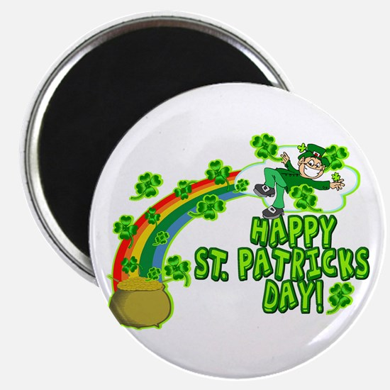 Happy St. Patrick's Day Classic Magnet