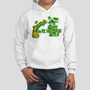 Happy St. Patrick's Day Classic Hooded Sweatshirt