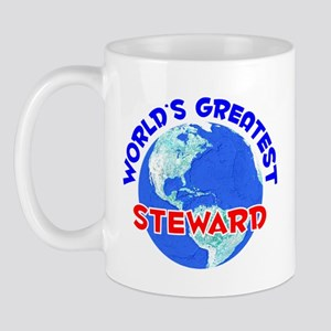 World's Greatest Steward (E) Mug