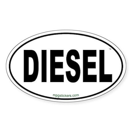 Diesel Euro Sticker