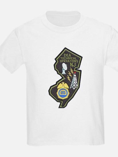 DEA NJ Techops T-Shirt