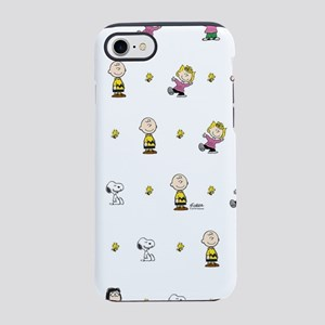 Peanuts Gang Collage White iPhone 8/7 Tough Case