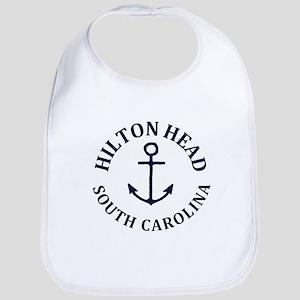 Summer hilton head- south carolina Baby Bib