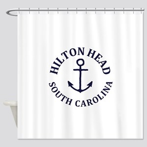 Summer hilton head- south carolina Shower Curtain