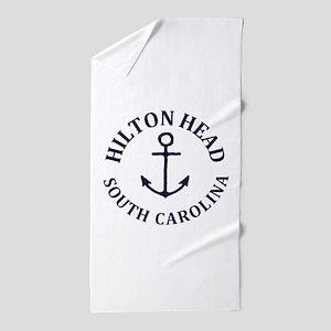 Summer hilton head- south carolina Beach Towel