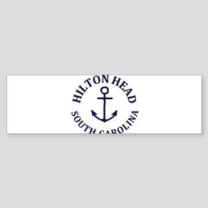 Summer hilton head- south carolina Bumper Sticker