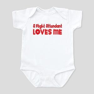 A Flight Attendant Loves Me Infant Bodysuit