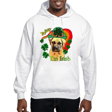 St. Patrick's Bullmastiff Hooded Sweatshirt
