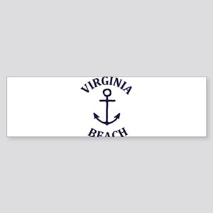 Summer virginia beach- virginia Bumper Sticker