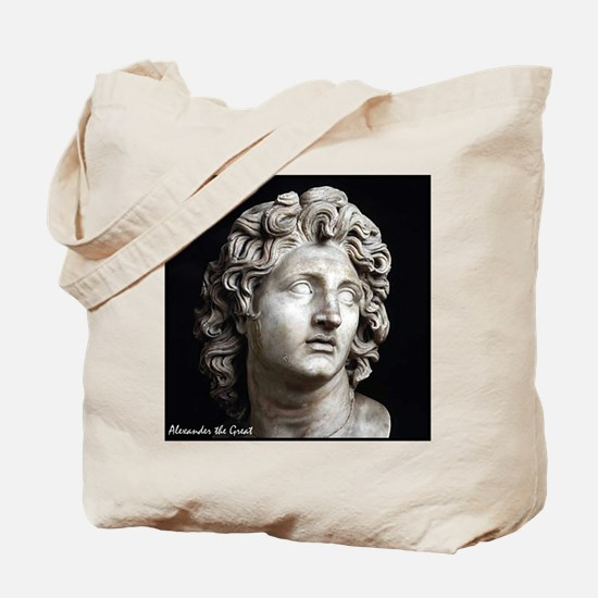"Faces ""Alexander"" Tote Bag"