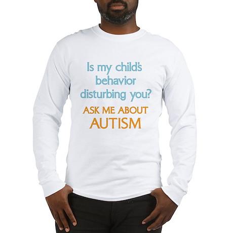 Autism Behavior Long Sleeve T-Shirt