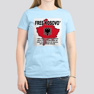 Free Kosovo Women's Light T-Shirt