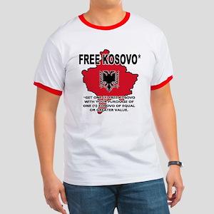 Free Kosovo Ringer T