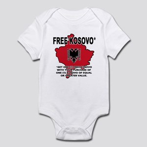Free Kosovo Infant Bodysuit