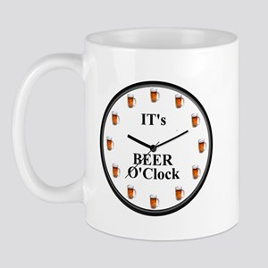 Its Beer O'Clock Mug