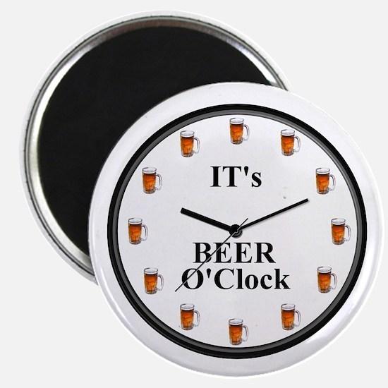 Its Beer O'Clock Magnet
