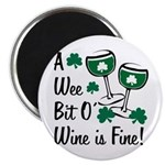Wee Bit O' Wine Magnet