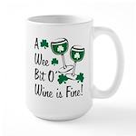 Wee Bit O' Wine Large Mug