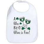 Wee Bit O' Wine Bib