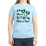 Wee Bit O' Wine Women's Light T-Shirt