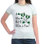 Wee Bit O' Wine Jr. Ringer T-Shirt