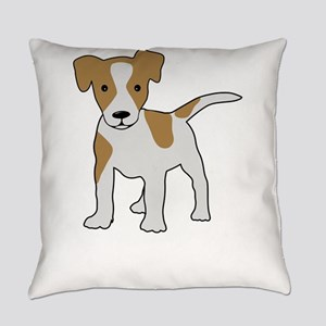 Jack Russell Terrier Everyday Pillow