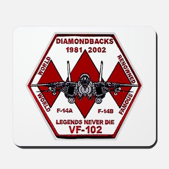 VF 102 Diamondbacks Commemorative Mousepad