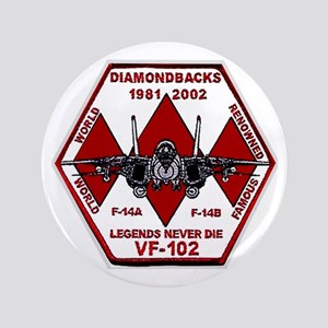 "VF 102 Diamondbacks Commemorative 3.5"" Button"