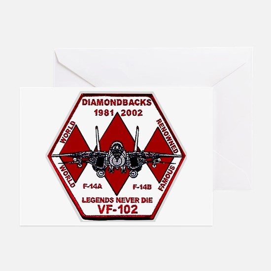 VF 102 Commemorative Greeting Cards (Pk of 10)