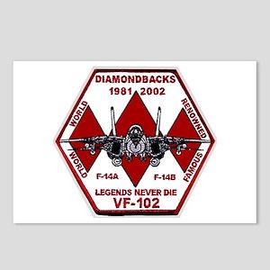VF 102 Diamondbacks Commemorative Postcards (8 Pk)