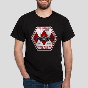 VF 102 Diamondbacks Commemorative Dark T-Shirt