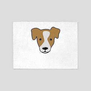 Dog 5'x7'Area Rug
