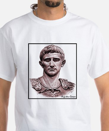 "Faces ""Augustus"" White T-Shirt"
