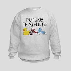 Future Triathlete Kids Sweatshirt