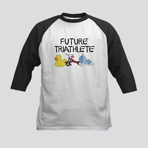 Future Triathlete Kids Baseball Tee