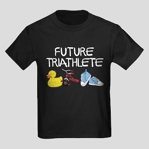 Future Triathlete Kids Dark T-Shirt