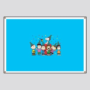 Peanuts Gang Birthday Banner