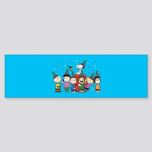 Peanuts Gang Birthday Sticker (Bumper)