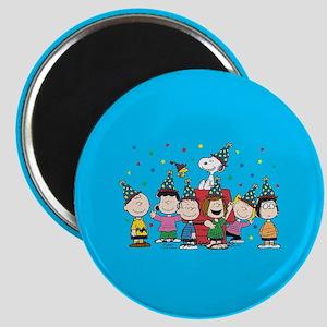 Peanuts Gang Birthday Magnet