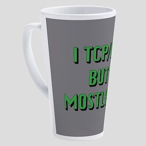 Mostly IP 17 oz Latte Mug