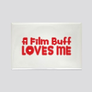 A Film Buff Loves Me Rectangle Magnet