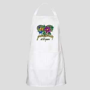 Beautiful 65th BBQ Apron