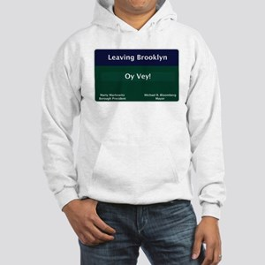 Leaving Brooklyn Hooded Sweatshirt