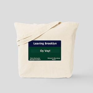Leaving Brooklyn Tote Bag